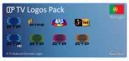TV Logos Pack - Portugal