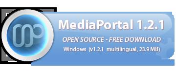 Ny installation av Mediaportal