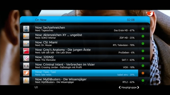 Watch or Record TV - MEDIAPORTAL