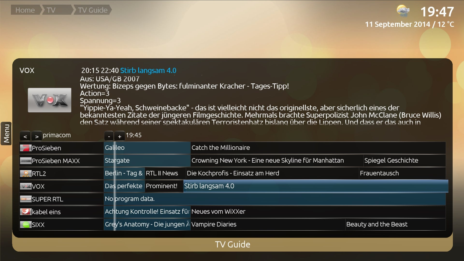 Slimtv nativetv 35 provider mediaportal keitaikenchofo Image collections