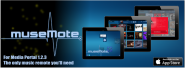museMote Server for iPad