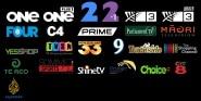 New Zealand TV Channels Logos