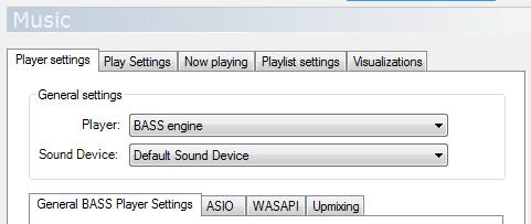 Music Configuration