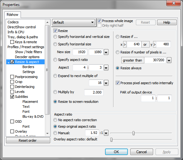 how to make mpc-hc default player