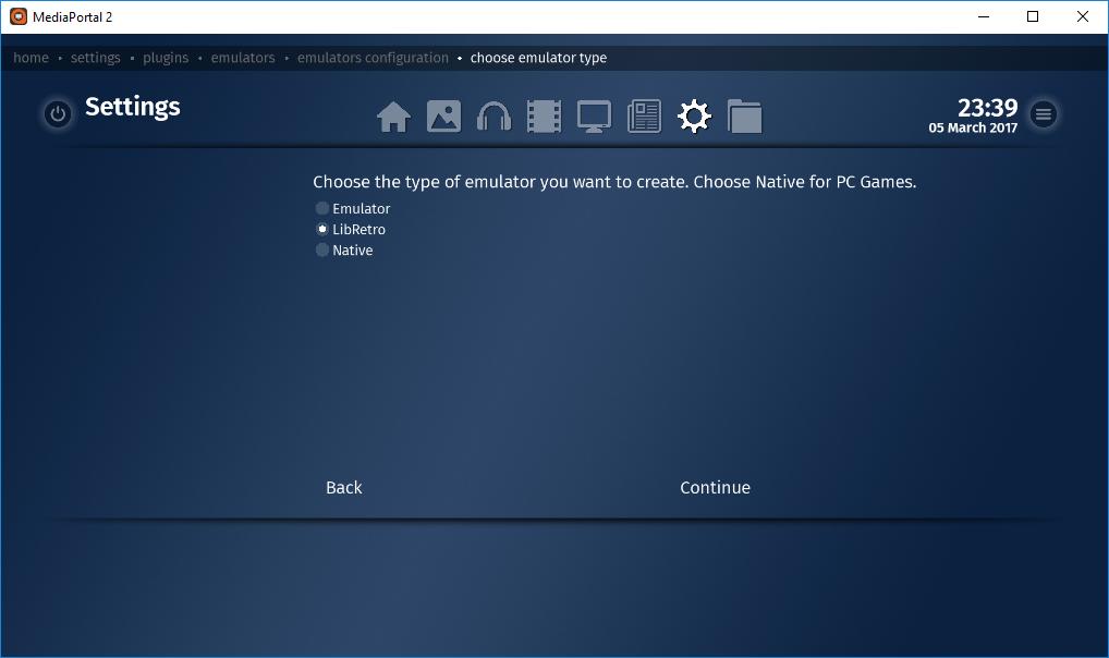 Adding Libretro Cores