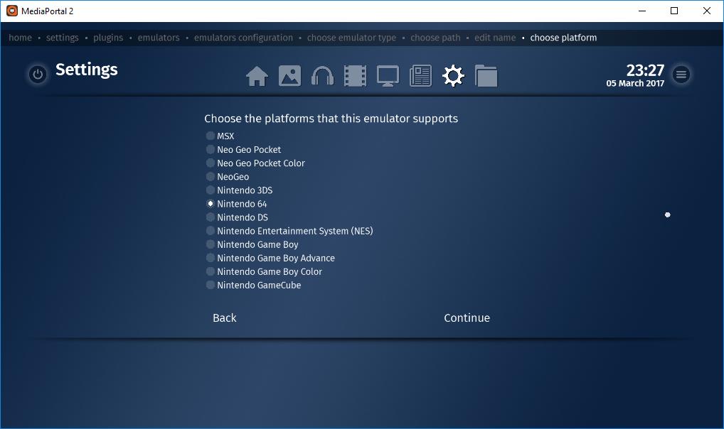 Adding Emulators